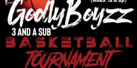 GodlyBoyzz Basketball Tournament (BOUND 4 GLORY MINISTRIES) tickets