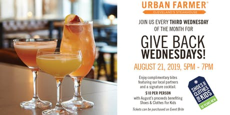 Give Back Wednesday's tickets
