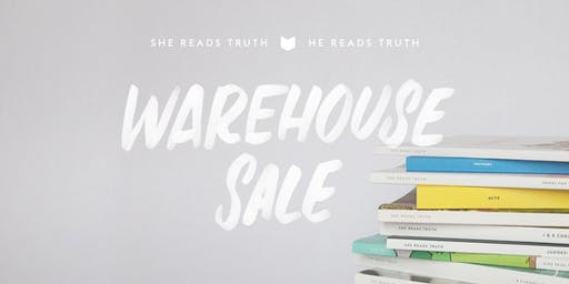 She Reads Truth Warehouse Sale