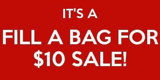 $10 Bag of Clothing Event!
