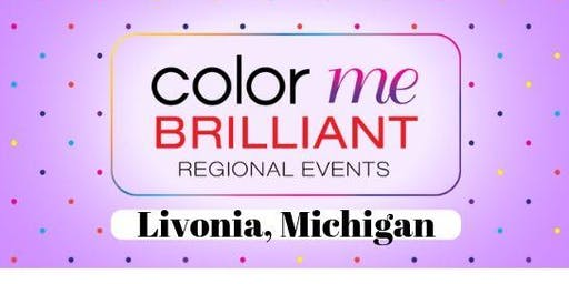 Color Me Brilliant August meeting in Livonia