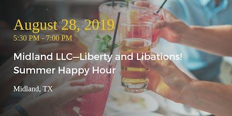 Midland LLC—Liberty and Libations Summer Happy Hour tickets