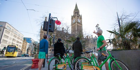 See the sites of Manchester by bicycle tickets