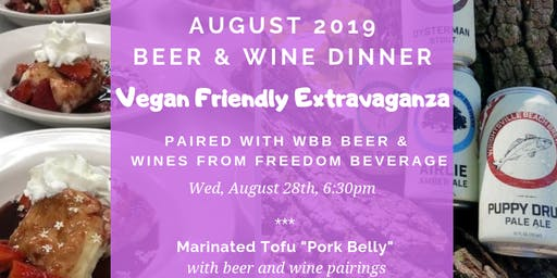 Vegan Friendly Extravaganza!!