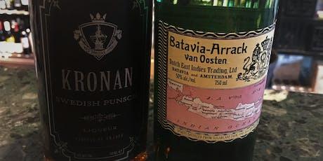 Batavia Arrack & Swedish Punsch tickets