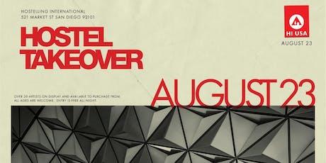 Hostel Takeover Art Show tickets