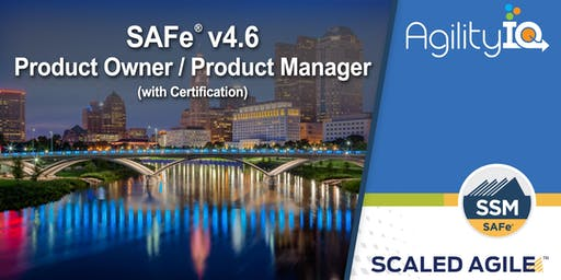SAFe® 4.6 Product Owner / Product Manager with Certification