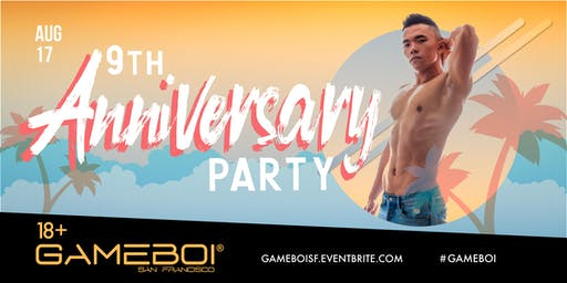 GameBoi SF - 9th Anniversary Party at Origin, 18+