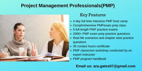 PMP Certification Course in Montpelier, VT tickets
