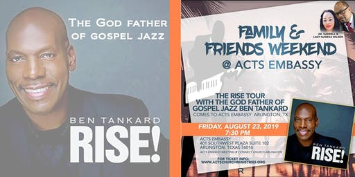 The Platinum-Selling Gospel Jazz Pianist Ben Tankard LIVE!