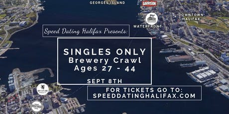 SINGLES ONLY Brewery Crawl - Ages 27-44 tickets