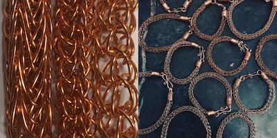 Wire Jewellery Workshop - Viking Weave Techniques
