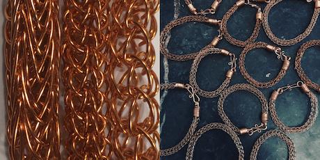 Wire Jewellery Workshop - Viking Weave Techniques tickets
