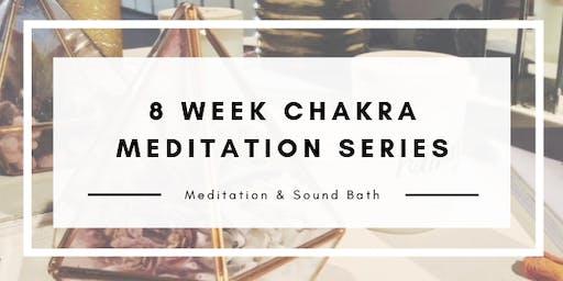 8 Week Chakra Meditation Series & Sound Bath