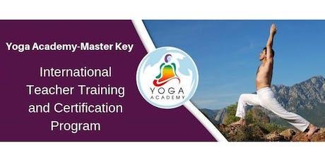 Yoga Academy-Master Key Programa Internacional de Maestros y Certificación boletos