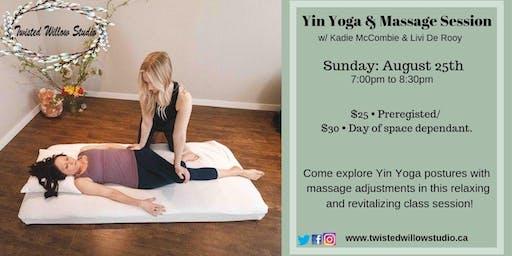 Yin & Massage Session