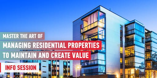 Managing Residential Properties to Maintain and Create Value