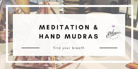 Meditation and Hand Mudras tickets