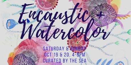 Weekend  Workshop: Watercolor + Collage tickets