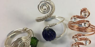 Wire Jewellery Workshop - 3 Wire Work Rings