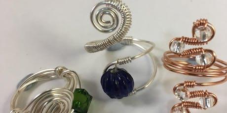Wire Jewellery Workshop - 3 Wire Work Rings tickets
