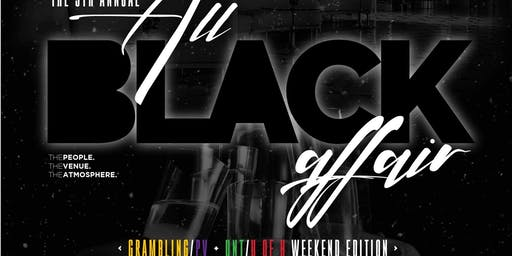 5th Annual ALL Black Affair  @ The W Hotel (Ghostbar)