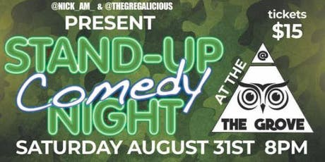 Comedy Night @ The Grove tickets