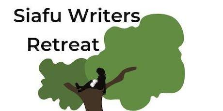 Siafu Writers Retreat  tickets