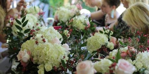 Garden Party & Co. Floral Workshop at Bradbury Lane
