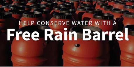 Rain Barrel Distribution Event tickets