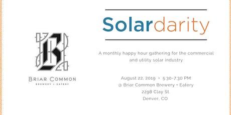 Solardarity August 2019 tickets
