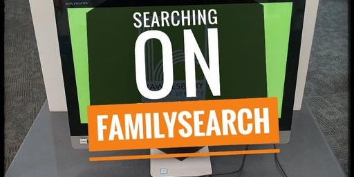 FAMILY HISTORY | Searching on FamilySearch