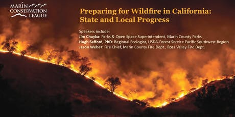 Preparing for Wildfire in California: State and Local Progress tickets