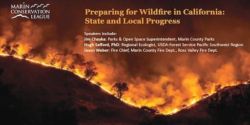 Preparing for Wildfire in California: State and Local Progress