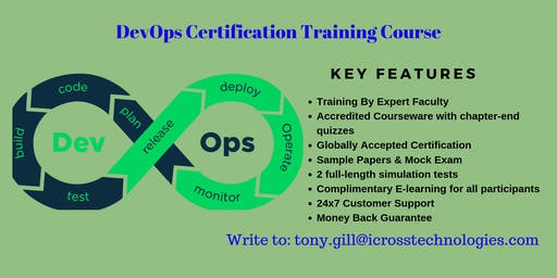 DevOps Exam preparation Course in Arnold, CA