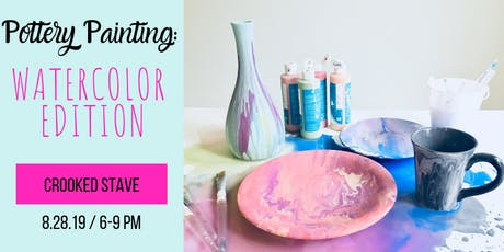 Pottery Painting: Watercolor Edition tickets