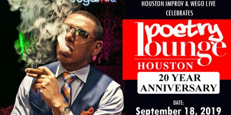 WEGO LIVE: Poetry Lounge Houston 20 Year Anniversary (Se7en) tickets