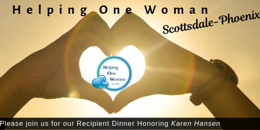 HOW Scottsdale-Phoenix August Recipient Dinner
