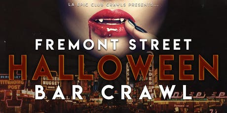 2019 Fremont Las Vegas Halloween Club Crawl tickets