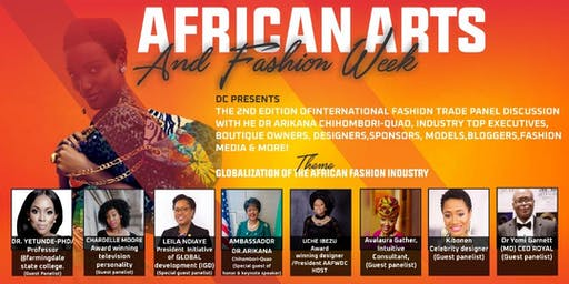African Arts & Fashion Week DC Expo