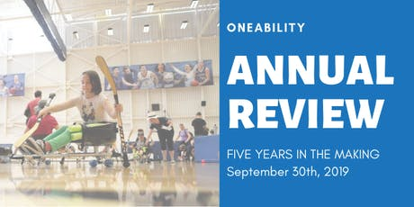 OneAbility Year-In-Review 2019: Five Years in the Making tickets