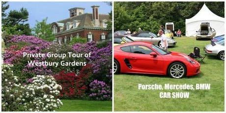 Long Island Singles Westbury Gardens Private Tour & Car Show tickets