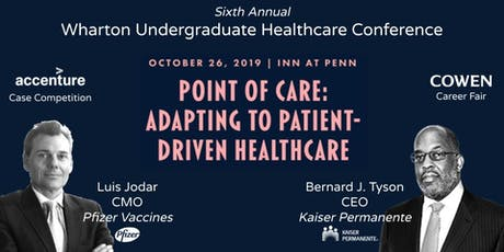 2019 Wharton Undergraduate Healthcare Conference tickets