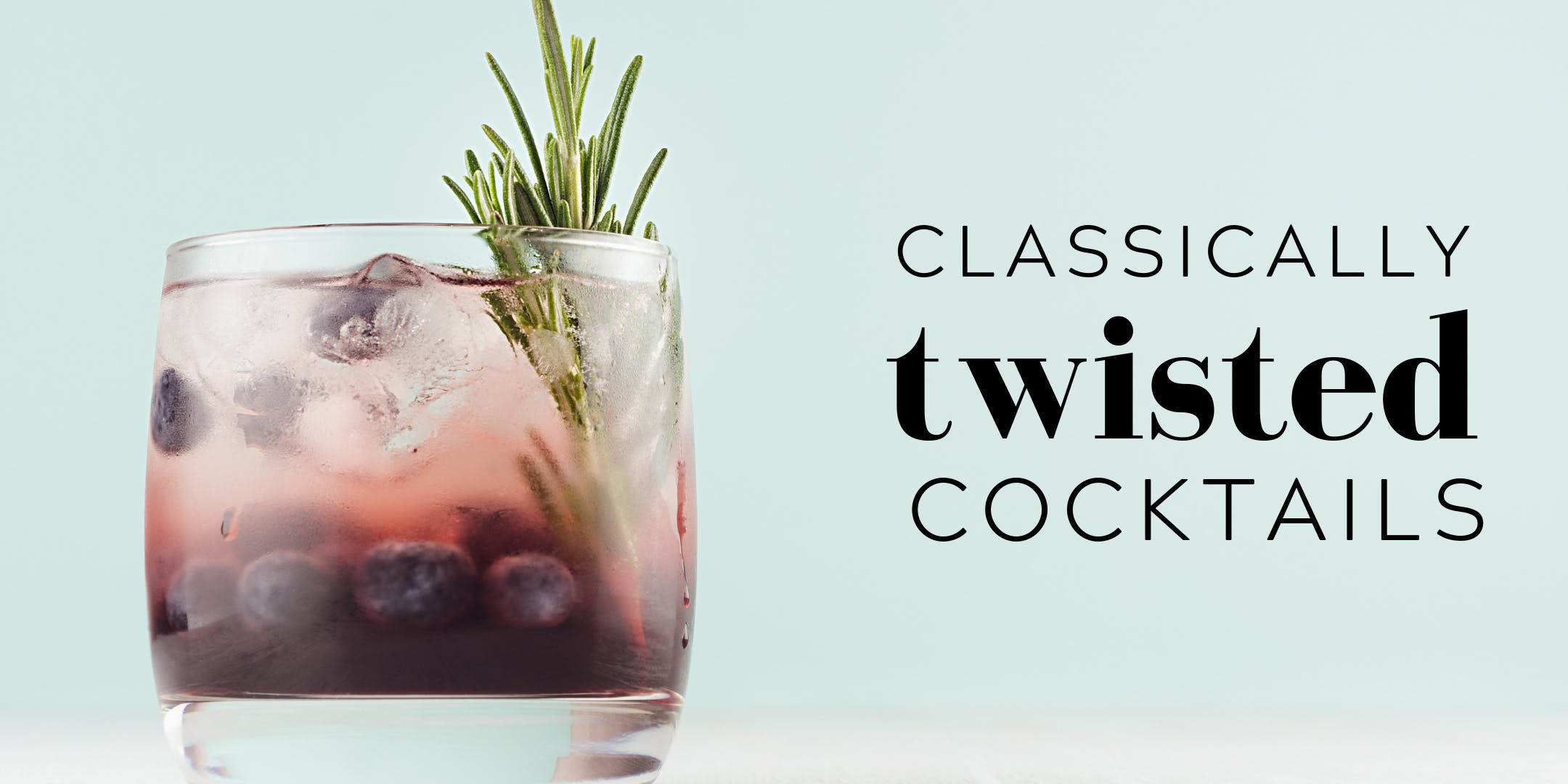 Classically Twisted Cocktails and Canapes