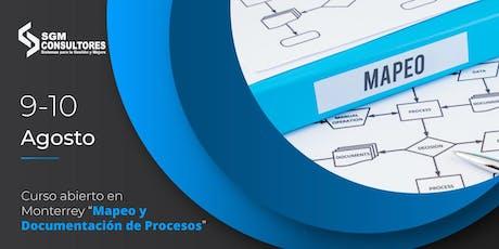 Curso Mapeo y Documentación de Procesos - MTY boletos