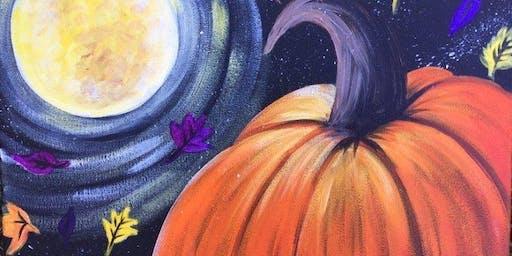 Let's Paint: Autumn Harvest Moon