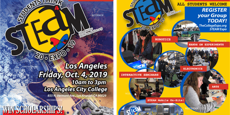 Students Think STEAM Expo-FREE tickets