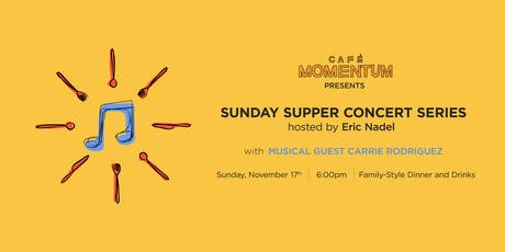 Sunday Supper Concert Series Hosted By Eric Nadel with Carrie Rodriguez tickets