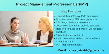 PMP Certification Course in San Angelo, TX tickets