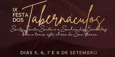 IX FESTA DOS TABERNÁCULOS